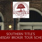 Wednesday Broker Tour Schedule – December 5, 2018