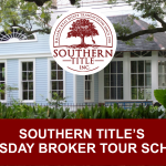 Wednesday Broker Tour Schedule – October 21, 2020